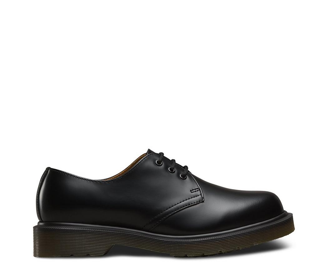 На фото туфли Dr.Martens 1461 PW Black Smooth