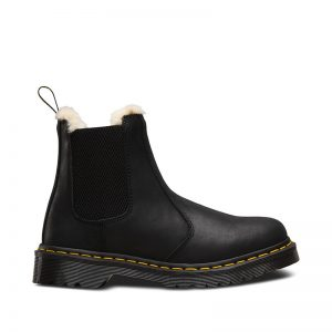 На фото челси Dr.Martens Leonore Black Burnished Wyoming