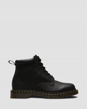 На фото ботинки Dr. Martens 939 – Black Greasy